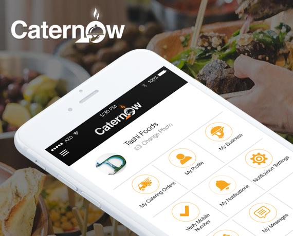 Caternow app